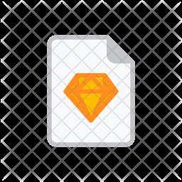 Sketch file Icon