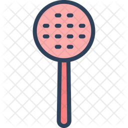 Skimmer Spoon Icon