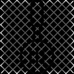 Skimmer Utensil Icon
