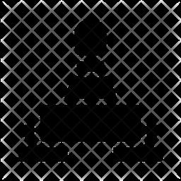 Skittle Glyph Icon