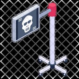 Skull Board Icon