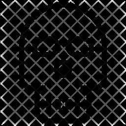 SKULL OF DEATH Line Icon