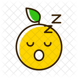 Sleep Emoji Icon