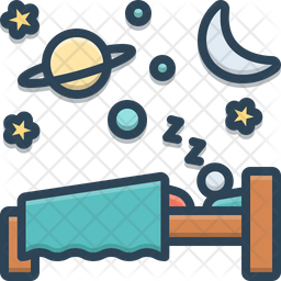 Sleep Icon Of Colored Outline Style Available In Svg Png Eps Ai Icon Fonts
