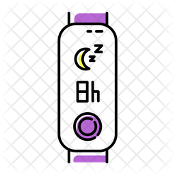 Sleep Time Indication Icon