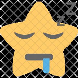 Sleeping Face Icon