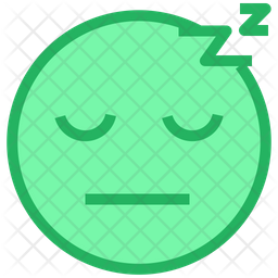 Sleeping Face Emoji Icon