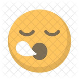 Sleepy Emoji Icon