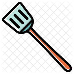 Slotted turner Icon