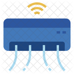 Smart air conditioner Icon