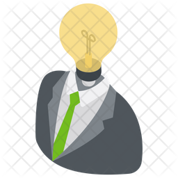 Smart Businessman Icon