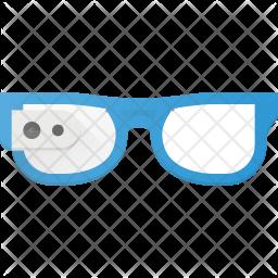 Smart glasses Flat Icon