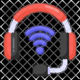 Smart Headphones Icon