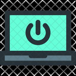 Smart, Laptop Icon