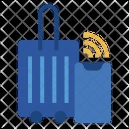 Smart luggage Icon
