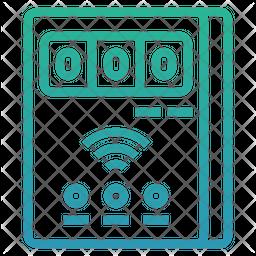 Smart meter Gradient Icon