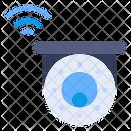 Smart Security Camera Icon