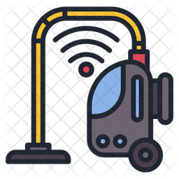 Smart Vacuum Cleaner Icon