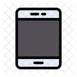 Smartphone Icon Of Colored Outline Style Available In Svg Png Eps Ai Icon Fonts