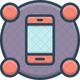 Smartphone Features Icon