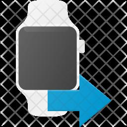 Smartwatch Flat Icon