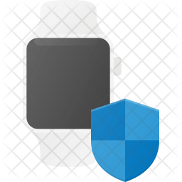 Smartwatch protection Flat Icon