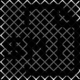 Smi File Line Icon