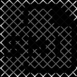 Smi File Glyph Icon