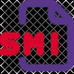 Smi File Dualtone Icon