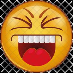 Smile Gradient  Emoji Icon