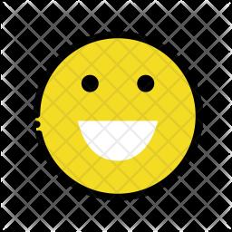 Smile emoji Emoji Icon