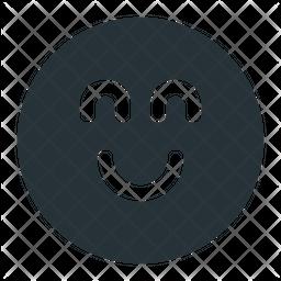 Smiley Glyph Icon