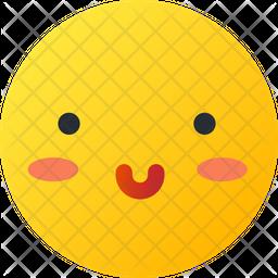 Smiley Gradient  Emoji Icon