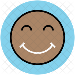 Smiley Colored Outline Icon