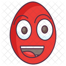 Smiley Egg Icon