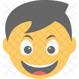 Smiling Icon Of Flat Style Available In Svg Png Eps Ai Icon Fonts