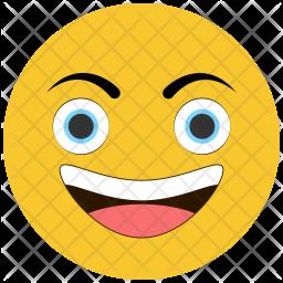 Smirking Emoji Icon