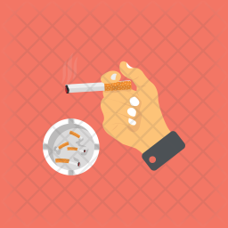 Smoking Addiction Icon