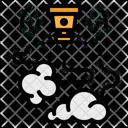 Smoking Sensor Icon
