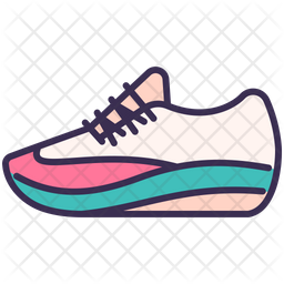 Sneaker Icon Of Colored Outline Style Available In Svg Png Eps Ai Icon Fonts