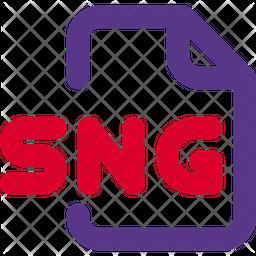 Sng File Dualtone Icon
