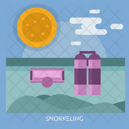 Snorkeling Icon png