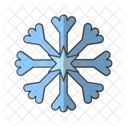 Snow Icon Of Colored Outline Style Available In Svg Png Eps Ai Icon Fonts