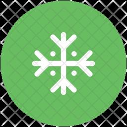 Snow Glyph Icon