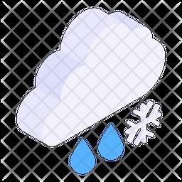 Snow Falling Icon