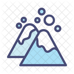 Snow mountain Icon