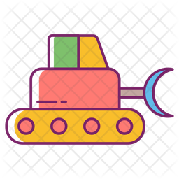 Snow Removal Vehicle Icon
