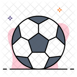 Soccer Ball Icon Of Colored Outline Style Available In Svg Png Eps Ai Icon Fonts