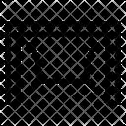 Soccer Net Line Icon