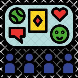 Social activity Icon